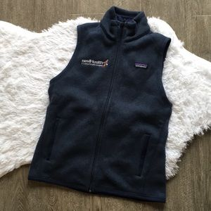 Navy Patagonia blue sweater vest